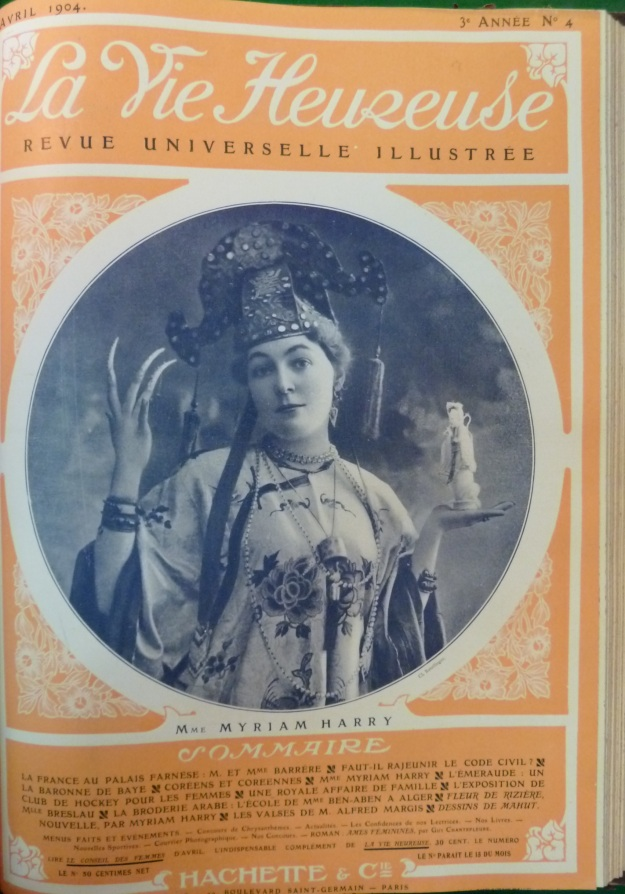 LVH 1904 avril Couverture, MH, Exoticism