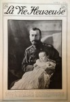 Tzar Nicholas II and his son Alexai