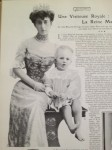 Queen Maud of Norway with baby Prince Olaf